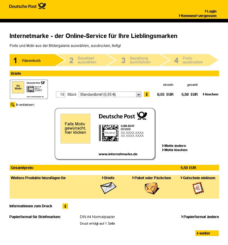 Woran Es Beim Online Frankieren Der Deutschen Post Hapert
